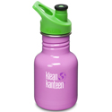 Klean Kanteen 12oz Sport Cap Cactus Flower