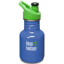 Klean Kanteen 12oz Sport Cap Lagoon Blue