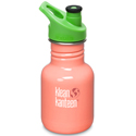 Klean Kanteen 12oz Sport Cap Living Coral