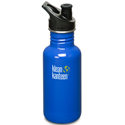 Klean Kanteen 18oz Sport Cap Ocean Blue