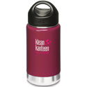 Klean Kanteen 12oz Wide Insulated Wild Raspberry