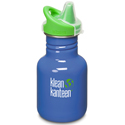 Klean Kanteen 12oz Sippy Lagoon Blue