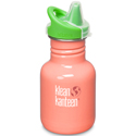 Klean Kanteen 12oz Sippy Living Coral