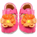 Livie & Luca Blossom Fuchsia Soft Sole