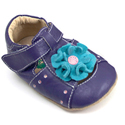 Livie & Luca Bloom Purple Sandal Soft Sole