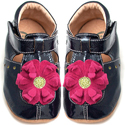 Livie & Luca Blossom Navy Soft Sole