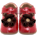 Livie & Luca Blossom Red Soft Sole