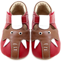 Livie & Luca Elephant Red Soft Sole