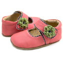 Livie & Luca Merry Bell Guava Soft Sole