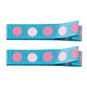No Slippy Clipettes Dots Turquoise 2 Pack