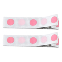 No Slippy Clipettes Dots White 2 Pack