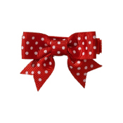 No Slippy Hair Clippy Dottie Red