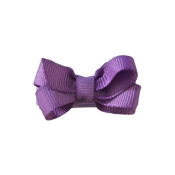 No Slippy Hair Clippy Haley Lavender Mini Clip