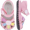 pediped Daisy Mid Pink Multi