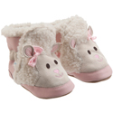 Robeez 3D Little Lamb Bootie Pastel Pink