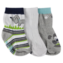 Robeez 3pk Socks Doggy Duo
