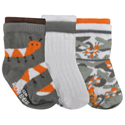 Robeez 3pk Socks Modern Bugs