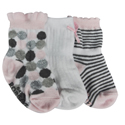 Robeez 3pk Socks Modern Dots