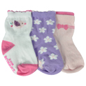 Robeez 3pk Socks Pretty Birds