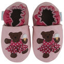 Robeez Beach Bear Pastel Pink