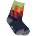 See Kai Run Organic Socks Diagonal Daze Blue