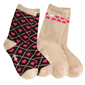 See Kai Run Organic Sock Set Adoring Hearts