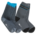 See Kai Run Organic Sock Set Chevron Deluxe Blue
