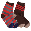 See Kai Run Organic Sock Set Savvy Stripes