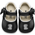 Smaller By See Kai Run Ariadne Black Patent