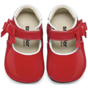 Smaller By See Kai Run Ariadne Red Patent