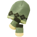 SmartWool Baby Argyle Hat &amp; Mitt Set Wasabi