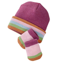 SmartWool Baby Banner Stripe Set Azalea