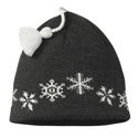 SmartWool Kids Snowfall Hat Charcoal Heather