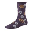 SmartWool Kids Wall Flower Plum Heather