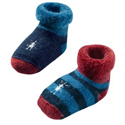 SmartWool Baby Bootie Batch Arctic Blue