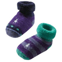 Smartwool Baby Bootie Batch Grape Spearmint