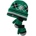 SmartWool Baby Argyle Hat Mitt Set Grasshopper