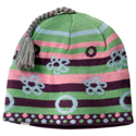 SmartWool Kids Bubble Stripe Hat Deep Purple