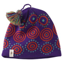 SmartWool Kids Wintersport Dot Hat Grape