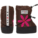 Stonz Booties Daisy Brown Fuchsia