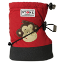 Stonz Booties Monkey Brick Red