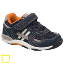 Stride Rite Baby Rex Navy Brown