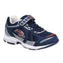 Stride Rite Bruce Navy Silver Orange