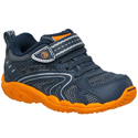 Stride Rite Callahan Navy Orange