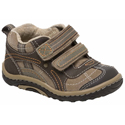 Stride Rite SRT Landon Dark Brown Taupe