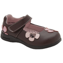 pediped Flex Abigail Choc Brown 