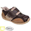 pediped Flex Adrian Choc Brown Tan
