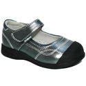 pediped Flex Christina Pewter Metallic