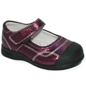 pediped Flex Christina Purple Crinkle