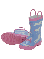 Hatley Hearts & Horses Rain Boots